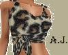 leopard top*AJ*