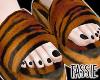 Tiger Fur Slides