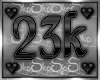 23k SUPPORT STICKER