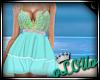 .L. Mermaid Dress Blue