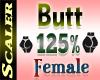 Butt / Hip Resizer 125%