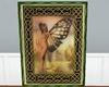 Celtic butterfly frame