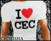 ! I Heart Cec - Tee [M]