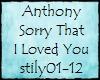 TS-Anthony Sry That ILY