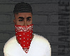 Red Face Bandana