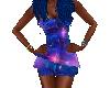 Mystic Aqua Vortex Dress