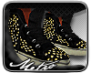M|Louboutins in Gold