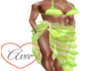 Bikini/Wrap Green Slice