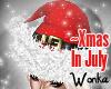W° Xmas In July Hat .F