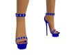 Blue Mistress Heels