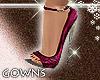elegants mauve heels