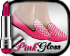 |PG| Pink Spiked Shoe