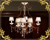 ~LS~  Cream Chandelier