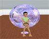 BB Purple Crystal Chair