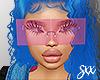 samira blue hair