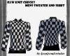 [kflh] B&W Knit Checks