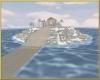 Frozen island temple