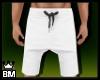 BM| White Shorts