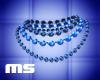MS Formal Necklace Blue