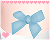 Blue Thigh Bows