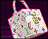 LV mini box bag