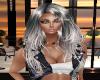 Hair SilverBlack Liz 21