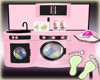 Kids Pink Laundry Play