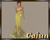 Flaxen Lame Gown