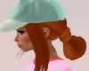 Branka Hat Hair Red