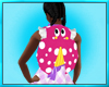 Pink Lady Bug Back Pack