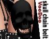 Skull Chain Belt *BLK *F