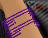 Purple Multi Bracelet