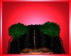 Green Xmas Hair Fur Ears