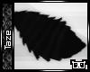 -T- Black Chibi Fox Tail