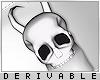 0   Skull Horns & Veil F
