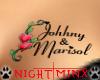 Jonhhy & Marisol tat
