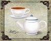 Teapot & tea cup