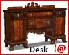 !@ Antique carved desk