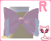Pink lolita bow[R ankle]