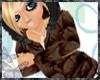 (�) Brown Vintage Coat