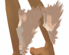 Cream Leg Fur