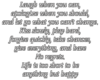 {MD} No Regrets