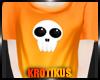 -K- Kawaii Skull Top