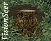 Woodland Tree Stump Seat