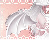 Rose Demon Wings |White