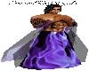 Purple Flame Robe