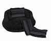 grey & black Kiss seat