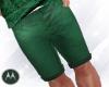 =M= Tropical green short