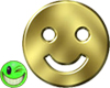 ~MDB~ GOLDEN SMILEY FACE