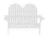 White 2-Seat Patio
